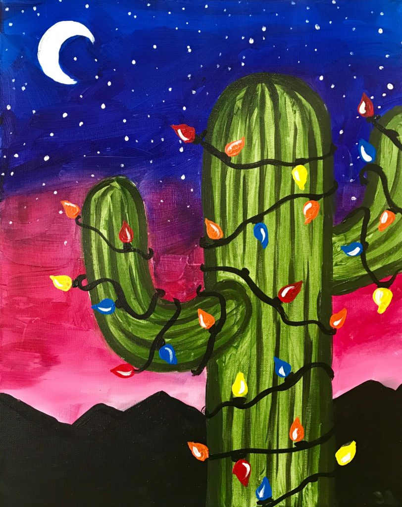 az holiday cactus